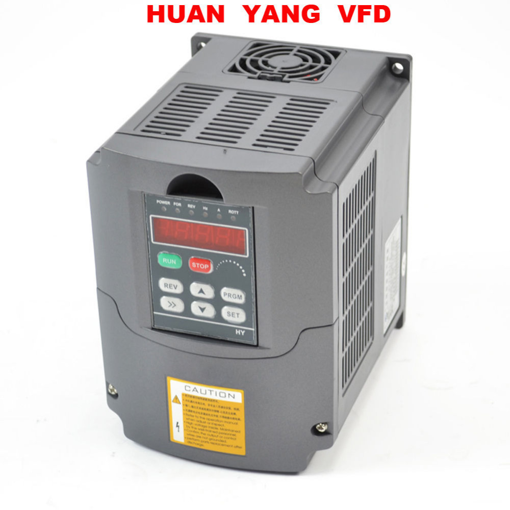 Vevor Vfd 2 2kw 220v 3hp 7a Variable Frequency Drive