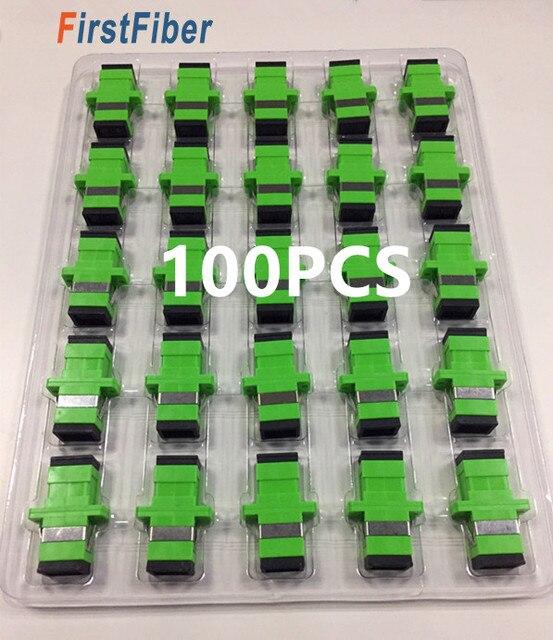 SC APC разъем SC APC волоконный адаптер симплексный одиночный режим Новый горячий Сплит Телеком класса SC/APC Волоконно-оптический разъем