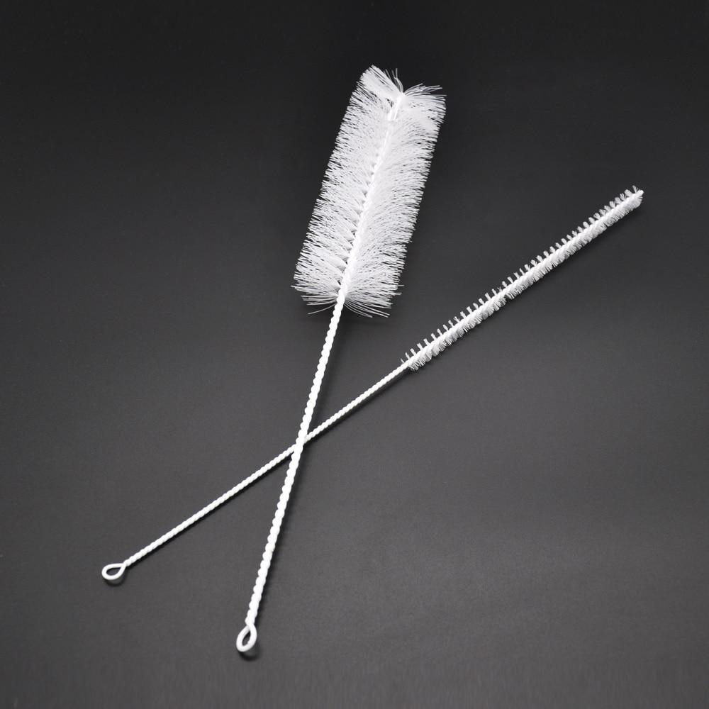 برس مجموعه ای 1 قلم مو برای تمیز کننده لوله Shisha Hookah با دو برس برس Shisha Hookah ابزارهای پاک کننده لوله فلزی
