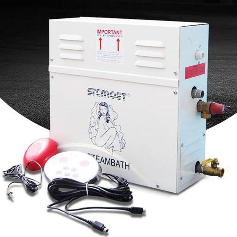 Machine à vapeur de ménage de générateur de vapeur de 6KW avec le panneau de commande numérique