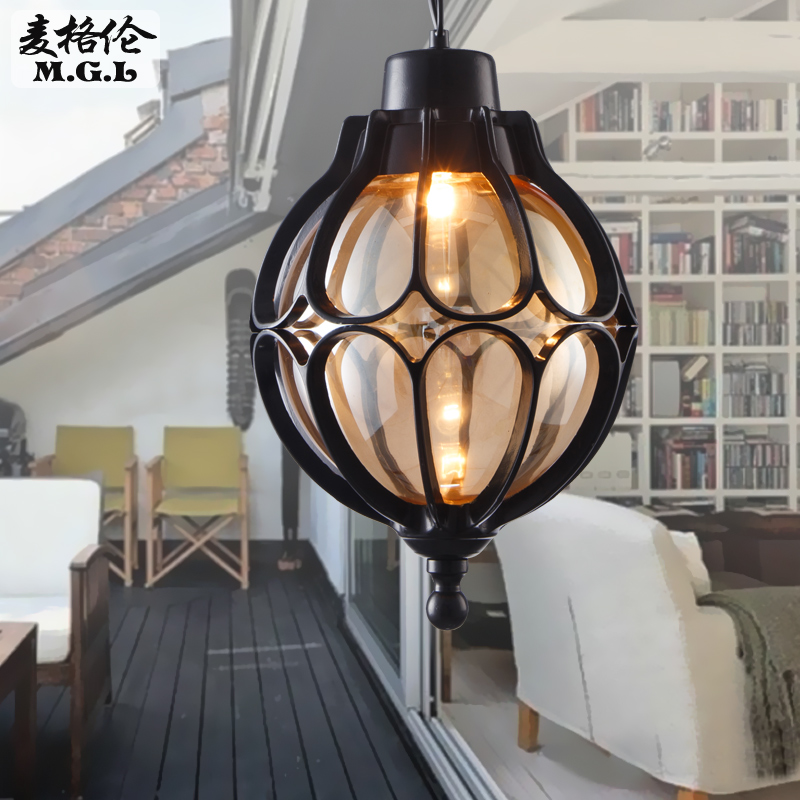 Us 66 29 49 Off Waterproof Outdoor Garden Lights Vintage Chandelier Balcony Continental Simple Hallway Entrance Lighting In