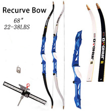 Take Down 68″ recurve hunting bow,right hand recurve bows alloy,arco recurvo,recurve bow sets archery set  Detachable Shooting
