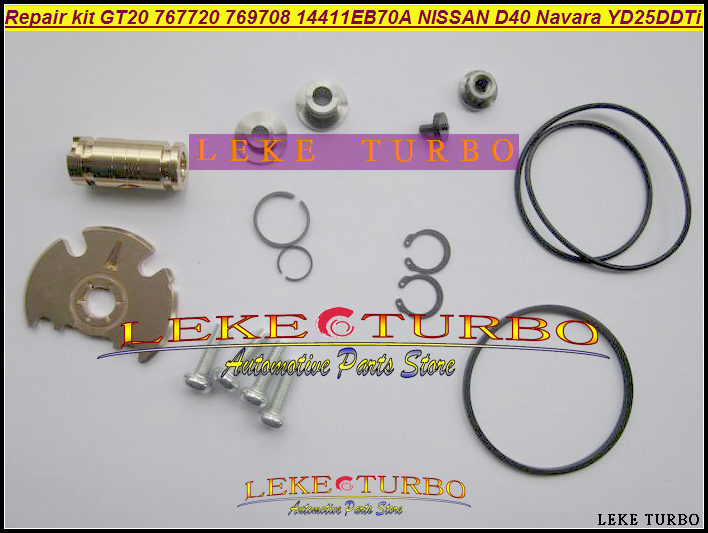 Turbo Repair Kit rebuild GT2056V 767720 767720-5004S 769708 769708-0004 For NISSAN Navara D40 Pathfinder R51 YD25 YD25DDTi 2.5L turbo repair kit rebuild oil rhf4h vn3 14411 vk500 14411vk500 vb420058 for nissan navara frontier md22 2 5l x trail yd22eti 2 2l