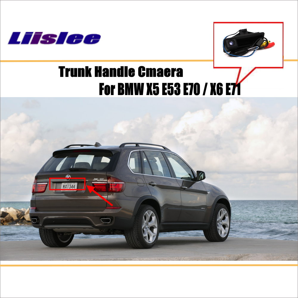 Liislee Car Rear View Camera For BMW X5 E53 E70 X6 E71 Reverse Camera HD CCD
