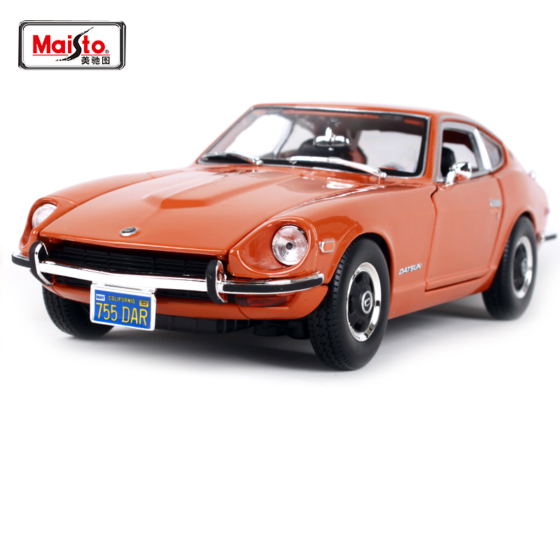 Maisto 1:18 1971 Nissan Datsun 240Z Sports Car Diecast Model Car Toy New In Box Free Shipping NEW ARRIVAL 31170