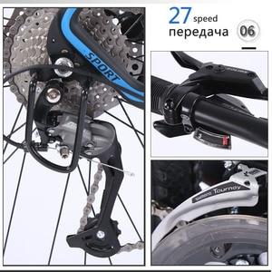 Image 3 - Wolfs fang bicicleta de montanha, freios a disco duplo 27 velocidades 29 Polegada, liga de alumínio para bicicleta mtb bmx de frete grátis