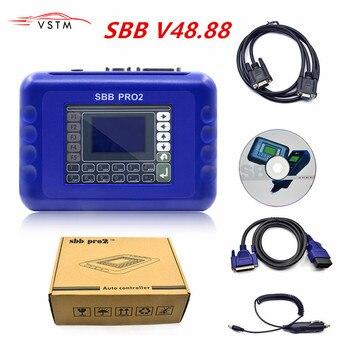 Newly SBB Pro2 V48.88 V48.99 SBB V46.02 Auto Key Programmer Update of SBB V33.2 V33.02 Car Key Transponder SBB 48.88 46.02 Key