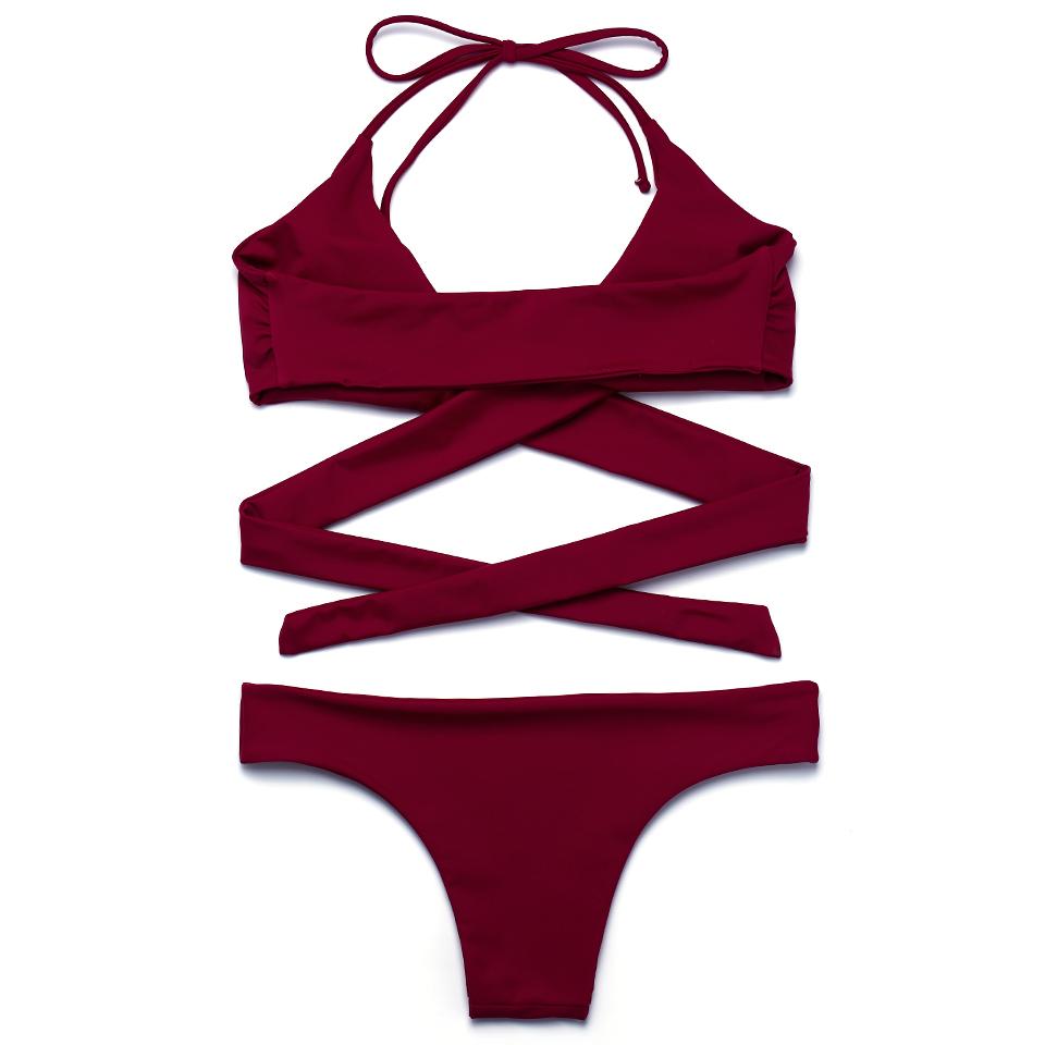 HTB1sW53PVXXXXb.aXXXq6xXFXXXF - FREE SHIPPING Swimsuit Sexy Halter Swimwear Women Bathing Suit Push Up Strappy Bikini Set JKP268