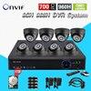 Home 8CH CCTV Security Cameras DVR System 8PCS700TVL Indoor Dome Ir Cut Cameras 8ch Surveillance Kit
