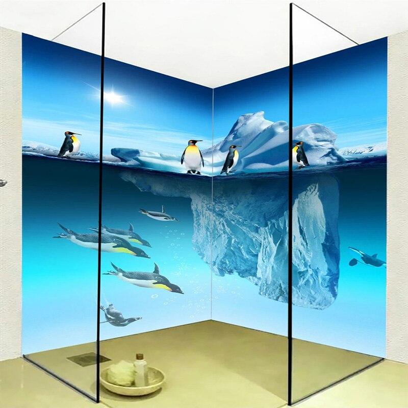 Photo Wallpaper Stereo Penguin