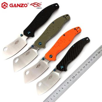 Aletler'ten Bıçaklar'de Orijinal Ganzo Firebird F7551 440C bıçak G10 kolu katlanır bıçak Survival kamp aracı Pocket knife taktik edc dış ortam aracı