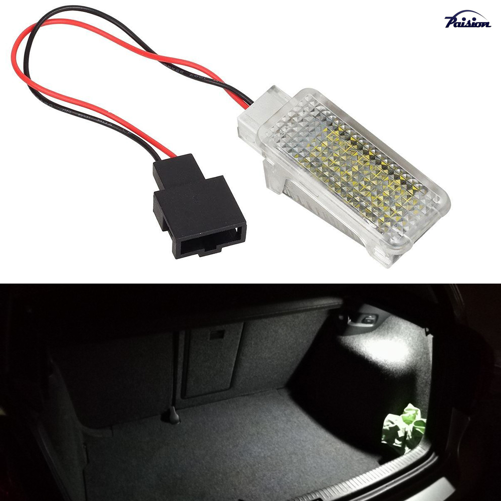 1Pcs LED Luggage Compartment LampTrunk Light Replacement Assembly For Volkswagen VW Polo 6R 6C White