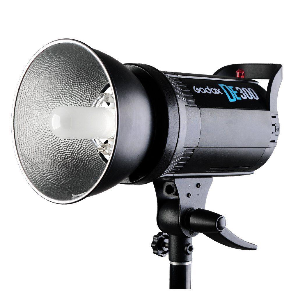 Godox DE300 компактный студийный стробоскоп 300В головка лампы освещения 300Ws