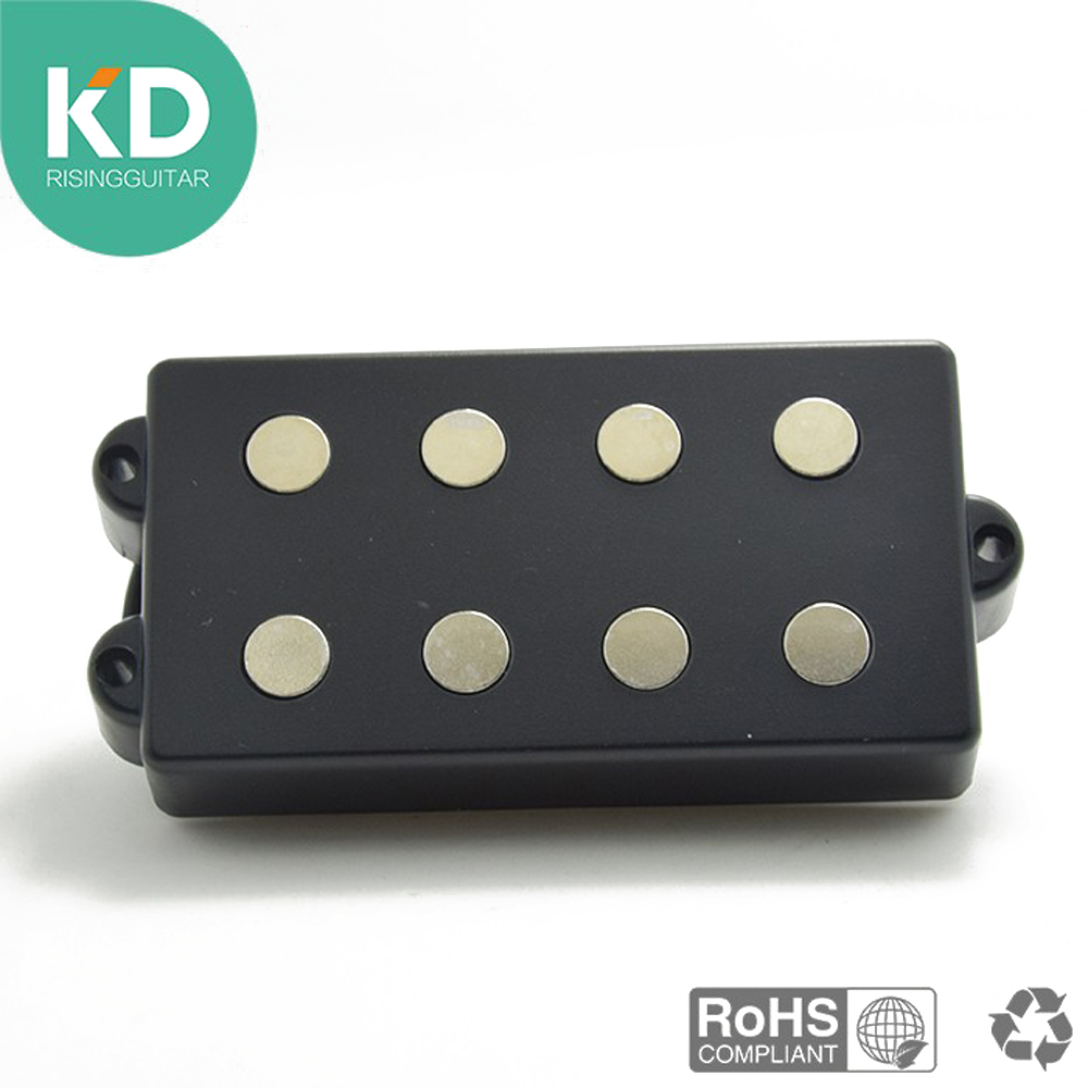 KD Electric Bass Guitar Pickups Humbucker 4 Strings Bass Ceramic Pickup Accessories guitar bass pickup a250k push pull control pot potentiometer for electric guitar accessories ea14
