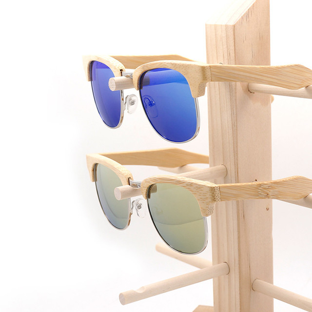 BOBO BIRD Wooden Handmade UV400 Polarized Unisex Sunglasses