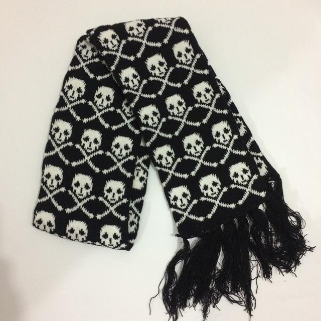 Unisex Skull Scarf 2 Styles 4
