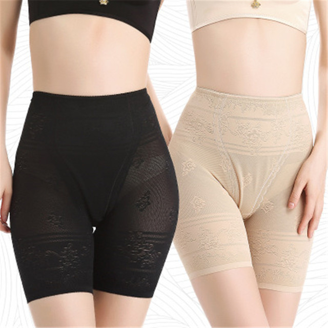 4bf748a1a912b Women Boyshorts Pants Ice Silk Seamless Short Women Five Minutes Black Silk Safety  Pants Women Silk Ice Safety Underwear Boxer