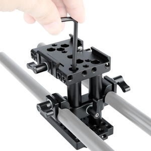 Image 4 - NICEYRIG سريعة الإصدار بلايت كما ستستهدف الجبن لوحة 15mm قضيب سريعة تزوير لوحة اللوح الأساس رفع 15mm السكك الحديدية قاعدة كاميرا لوحية تزوير