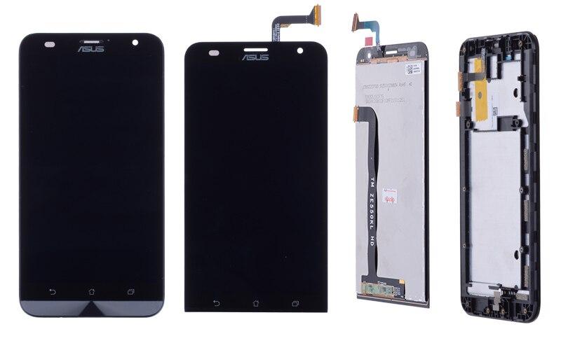 ORIGINAL 5.5 for ASUS Zenfone 2 ZE551KL LCD For ASUS Zenfone 2 Laser ZE550KL LCD Display Touch Screen Digitizer (2)