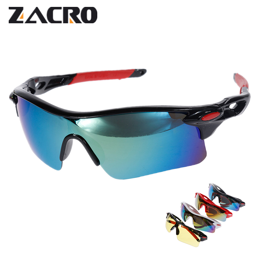 Zacro Unisex Cycling Glasses UV400 Sport Cycling Sunglasses Outdoor Eyewear Gafas Ciclismo Oculos Ciclismo for Mtb Bicycle rockbros 2015 oculos ciclismo mtb 3 10016