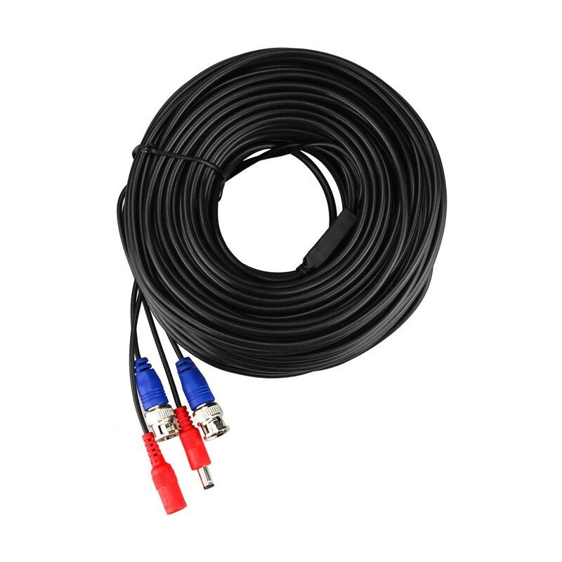H 30 m 100ft CCTV y BNC Cable de enchufe de CC de Video Cable de alimentación por Cable AHD cámara y Video DVR sistema de Vigilancia Accesorios