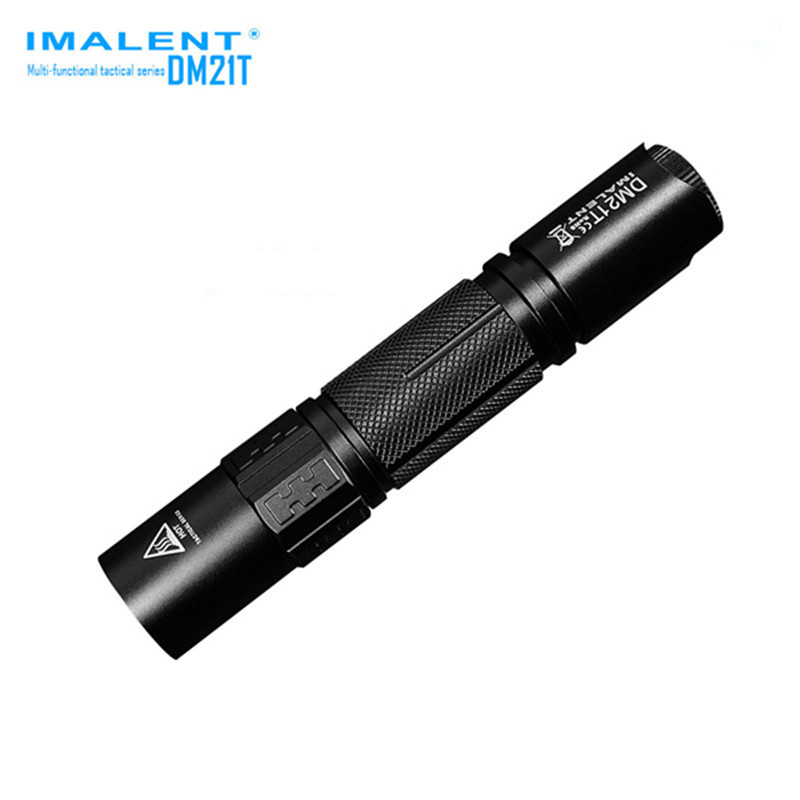 IMALENT DM21T Waterproof  XPL HI 4 Modes 1000 LM Tactical Rechargeable LED Flashlight 18650/CR123 Torch+Holster+2x O-ring nitecore tm06s palmtop monster waterproof 4000lm 5 modes 4 x xm l2 u3 led light lamp flashlight 18650 torch holster o ring