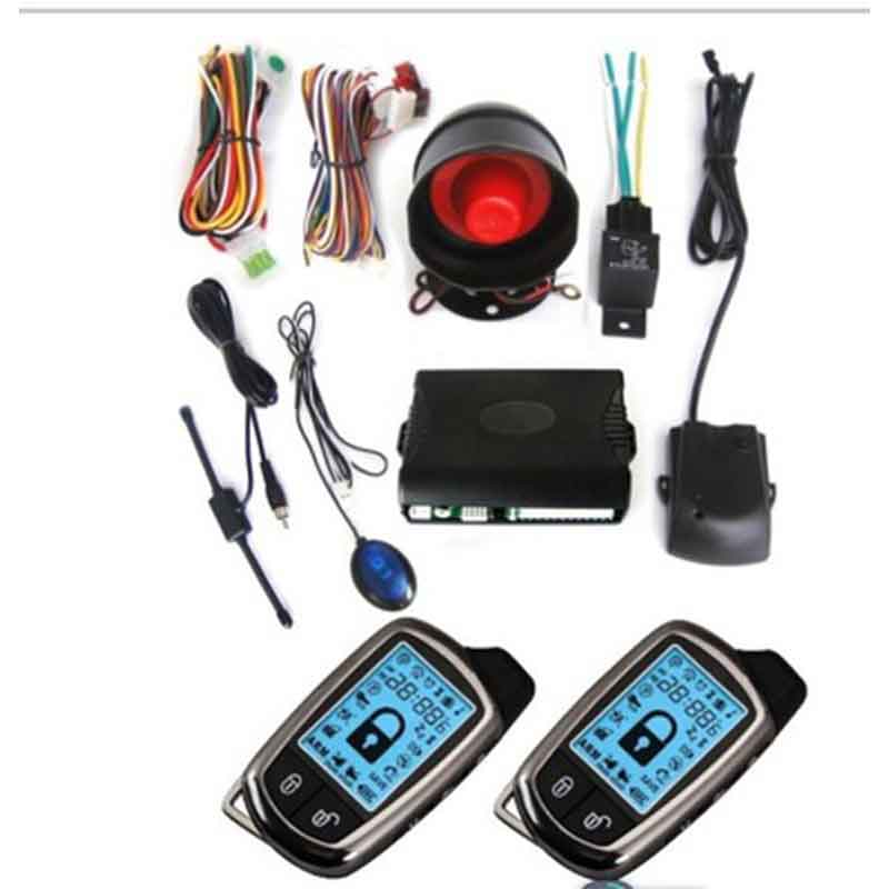Direct Two-way Car Alarm Russian General Car Burglar Alarm System Two Ca Signaling Car Parts Central Locking Keyless Entry