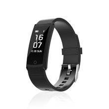2018 hot sale S6 smart bracelet IP68 waterproof sports fitness tracker blood pressure heart rate monitoring wristband watch