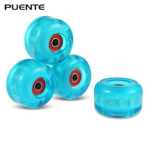 PUENTE 4pcs Skateboard Wheels For Ollie Punk And Jumping 78 - 85A Hardness Skateboard Wheel