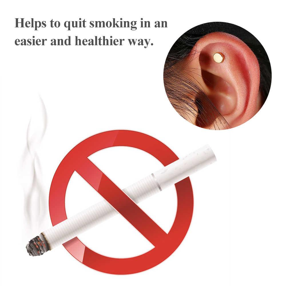 2 pièces/ensemble aimant cesser de fumer Patch d'acupression arrêter de fumer pas de Cigarette Patch Anti-fumée fumeur sans fumée outils de soins de santé