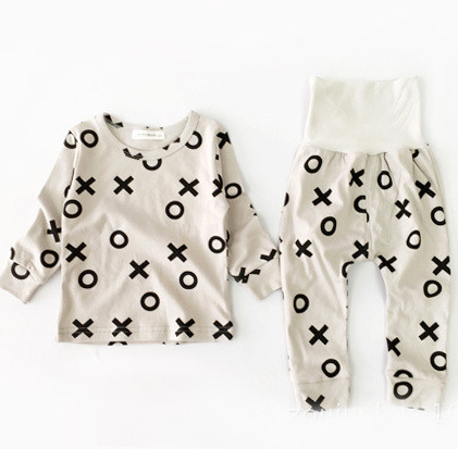 kids pajamas sets 2015 New Baby  Boys autumnr pyja...
