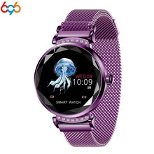 696 Women Fashion Bracelet color waterproof heart rate blood pressure health tracker ladies smart watch fashion watch PK mi band