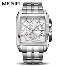 MEGIR Original Luxury Men Watch Stainless Steel Men