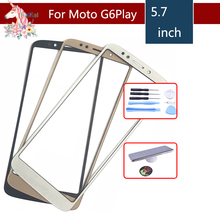 G6Play For Motorola G6 Play XT1922 XT1922-3 XT1922-4 Touch Screen Front Outer Glass Panel Lens NO LCD Display Digitizer 5.7 100% tested lcd screen for motorola moto e5 g6 play xt1922 xt1922 3 lcd display with touch screen assembly