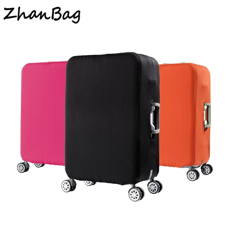 Funda de viaje elástica para equipaje protector de tela elástica con cremallera maleta funda protectora accesorios de viaje funda para equipaje