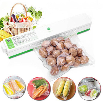 110V 220V Vacuum Food Sealers with Free Bags Kitchen Appliances Vacuum Packing Sealing Machine Vacuum Packages Packer for Food 4