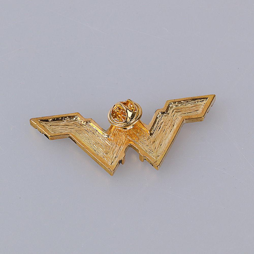 2017 Movie Wonder Woman Superhero Diana Prince Badge Metal Brooches Pin Halloween Carnival Cosplay Accessories Prop Adult Women (3)