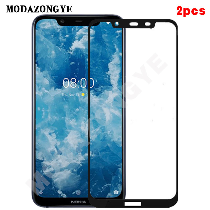 2pcs For Nokia 8.1 Tempered Glass Nokia 8.1 2018 Screen Protector For Nokia 8.1 TA-1119 TA-1128 Nokia Phoenix Full Cover Glass nokia 8 new 2018