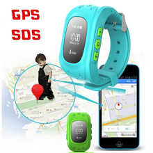 LANG MAO Smart Phone Watch Children Kid Wristwatch GSM GPRS GPS Locator Tracker Anti-Lost Smartwatch Child Guard for iOS Android