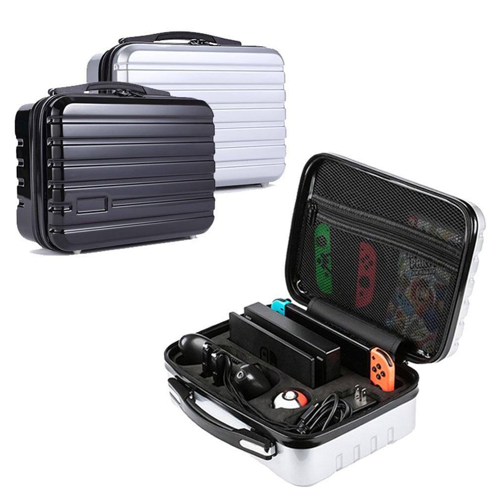 2019 New Nintend Switch Handbag Hard PC Meterial Anti Scratch Shockproof Waterproof Storage Case Bag for