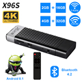 X96S Mini PC Android 8.1 TV Box Amlogic S905Y2 DDR4 4GB RAM 32GB ROM TV Stick 5G WiFi bluetooth 4 2 4K HD Smart Media Player|Digitalempfänger|Verbraucherelektronik -