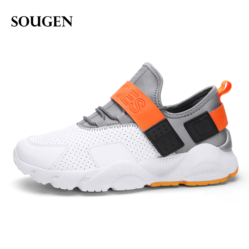 Male Shoes Adult Ons Men Human Race First Layer Winter Sneakers for Men Fashion 2019 Mens Canvas Shoes Sneakers Platform 42