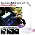 СВЕТОДИОДНЫЕ Лампы Для Чтения USB Аккумуляторная Настольная Лампа Доска Объявлений Сенсорный Лампа защита глаз свет книга детская подарок на день рождения
