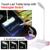 Luzes de Leitura LED Placa da Mensagem de Toque USB Lâmpada de Mesa Recarregável Lâmpada proteção para os olhos luz do livro de presente de aniversário das Crianças
