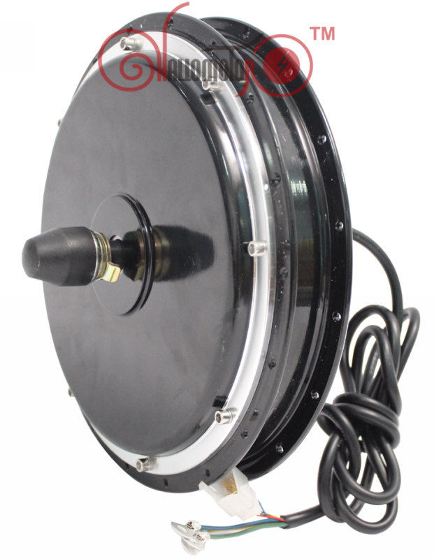 ConhisMotor ebike 1500 W 48 V 36 V avant moyeu moteur roue vélo électrique sans brosse sans engrenage 120mm 20inch-700c Support frein à disque