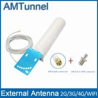 4G LTE Antenna 3G 4G Antenna 12dBi External Antennna SMA M With 5m Cable And SMA