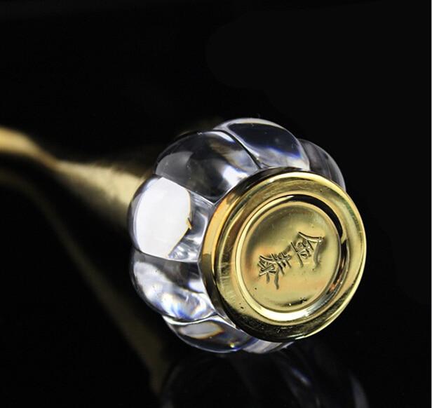 1PC brass Two-Site Hookah Magnet Circulating Water Smoking Pipe Metal Water Seniority copper smoking filter E0092