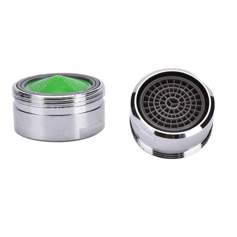 1/2 adet su tasarrufu havalandırıcı bakır banyo musluk fıskiye bacalı Net Bubbler yumuşak su ağız çiçekler önlemek en sıçrama
