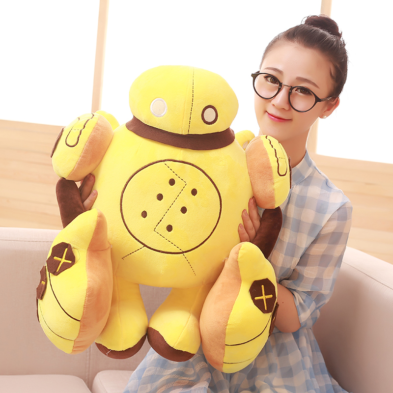 30/40cm 2 Sizes Cool Handsome Plush Robot Dolls Stuffed Toy Kids Favorite Gifts Children's Presents PP Cotton Stuffed Robot Doll