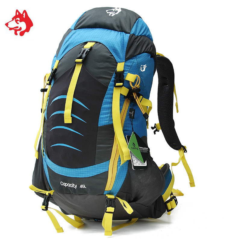 45L Unisex Sporttas Outdoor Sport Hiking Camping Backpacks Bag Rucksack For Camping Travel Climbing Trekking Backpack Bags цена